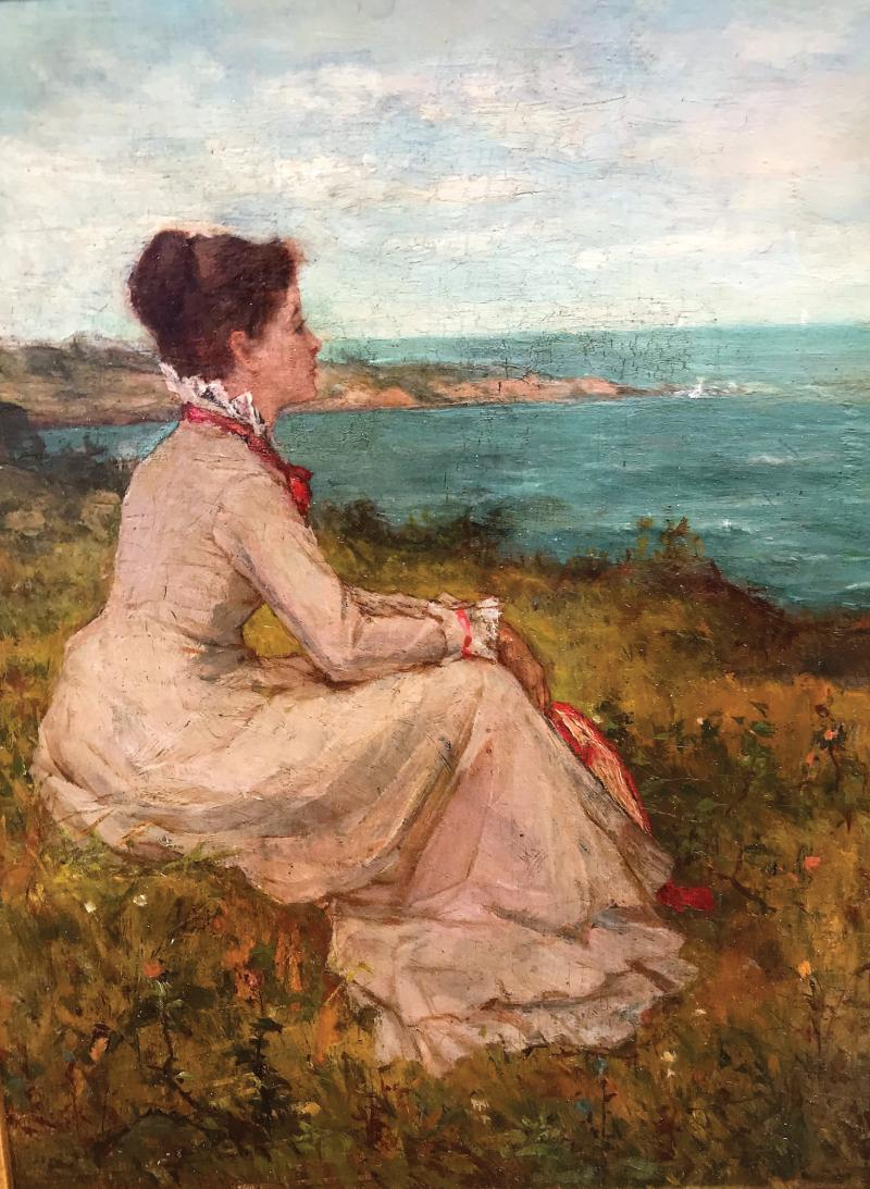 Willard Leroy Metcalf Offered by PORT N STARBOARD GALLERY