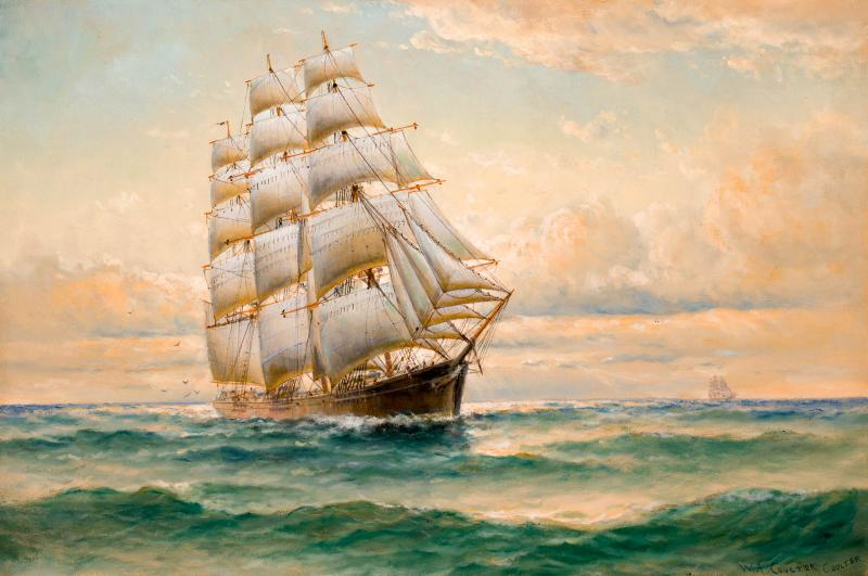 William Alexander Coulter The Clipper FLYING CLOUD