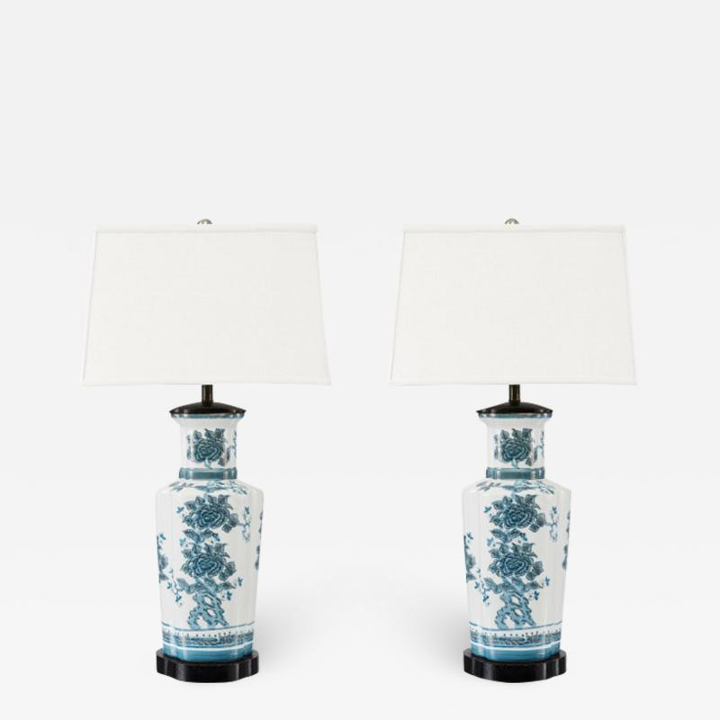 William Billy Haines Pair of Vintage Chinoiserie Lamps