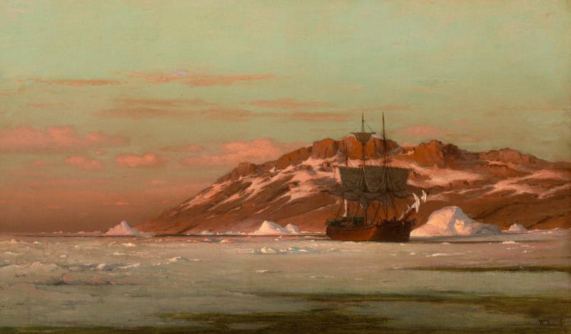 William Bradford American Whaler in Arctic Waters