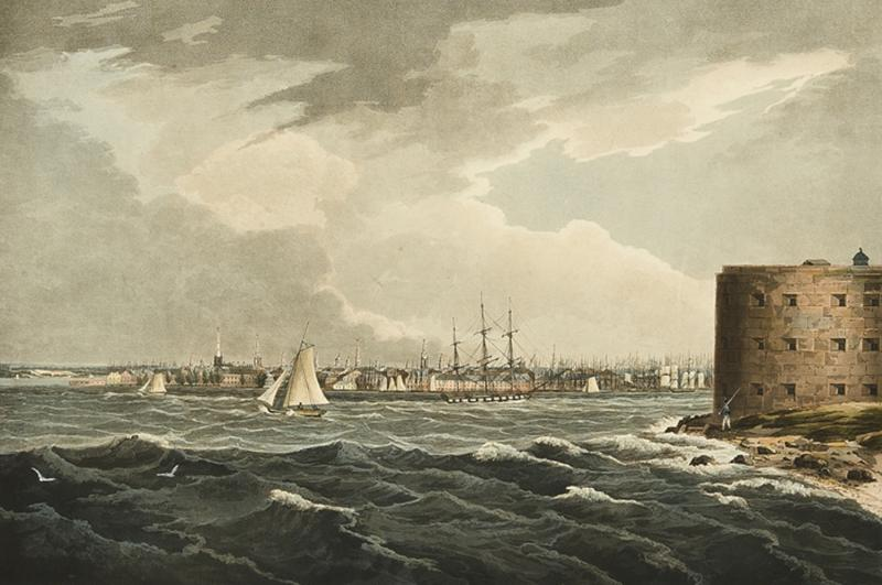 William Guy Wall New York from Governors Island