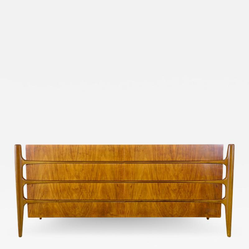 William Hinn William Hinn Double Chest of Drawers 1960s Sweden