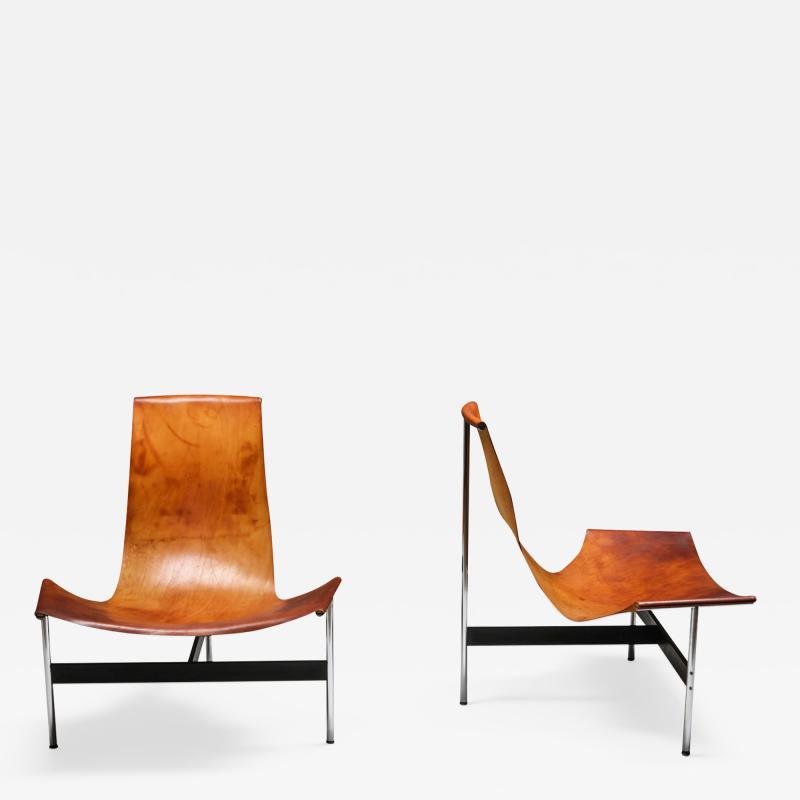 William Katavolos William Katavolos for Laverne International TH 15 Lounge Chairs 1960s