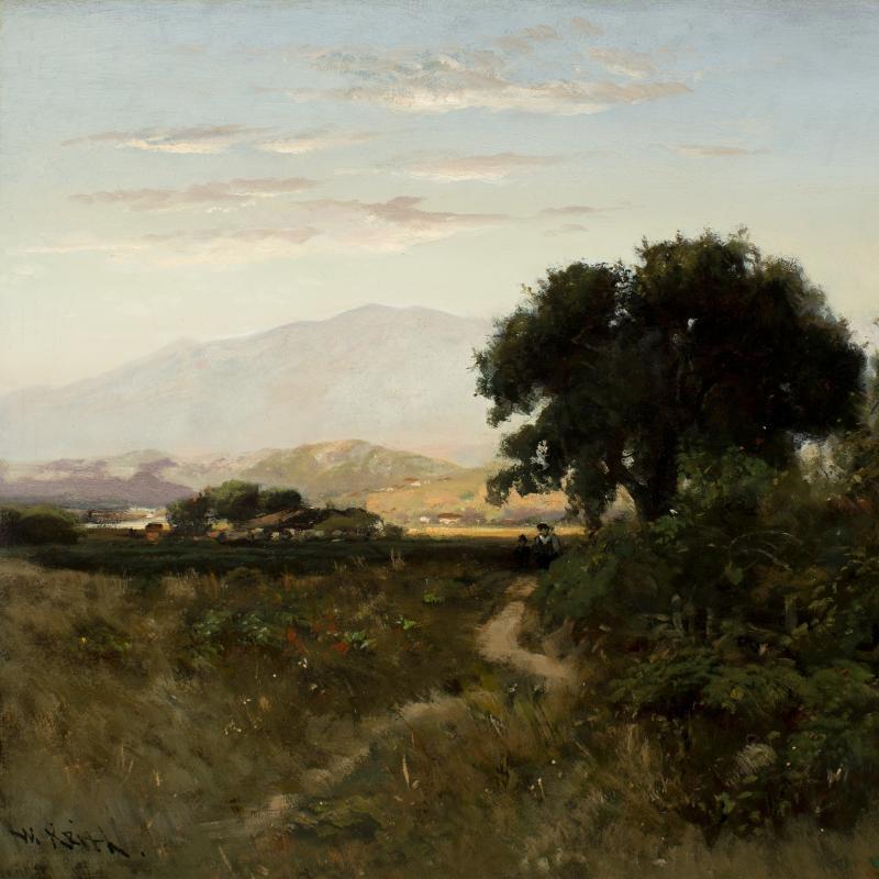 William Keith Mount Tamalpais Marin County California c 1880