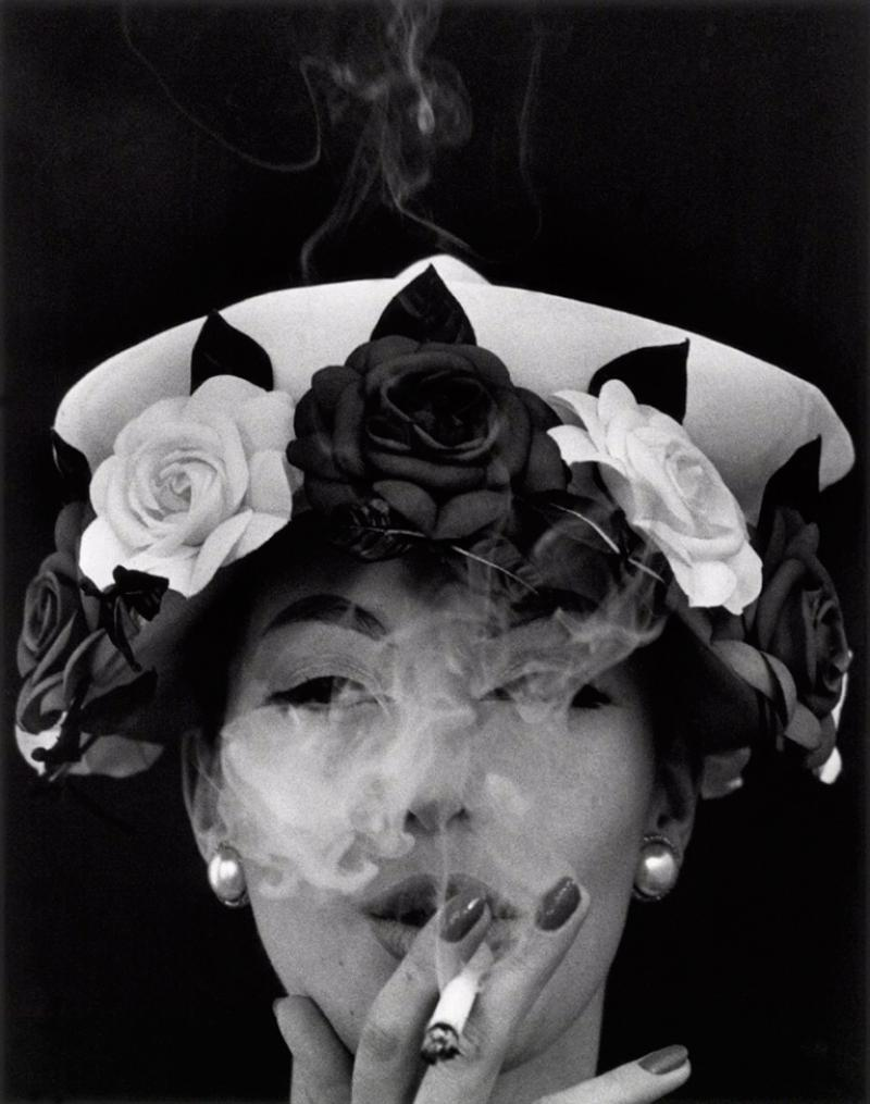 William Klein Hat and Five Roses 1956