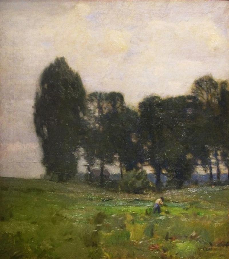 William Langson Lathrop The Green Swale