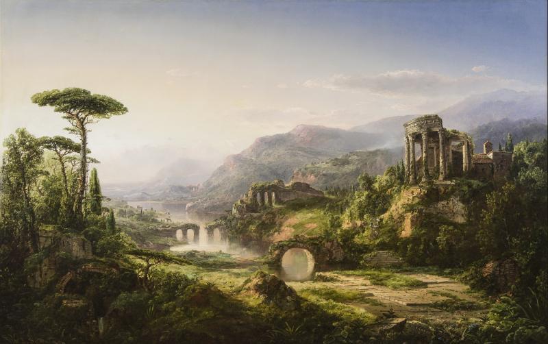 William Louis Sonntag Sr Dream of Italy