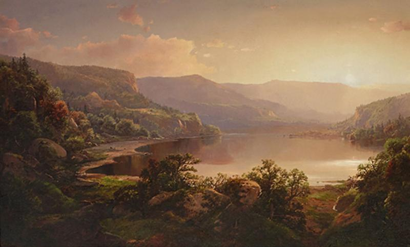 William Louis Sonntag Sr Sunset