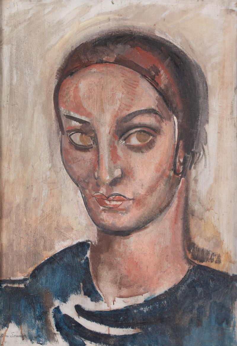 William Sommer Portrait of a Woman