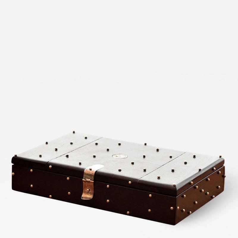 William Spratling William Spratling 1960s Ebony and Silver Set of Dominoes