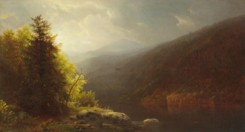 William Trost Richards Adirondacks Lake