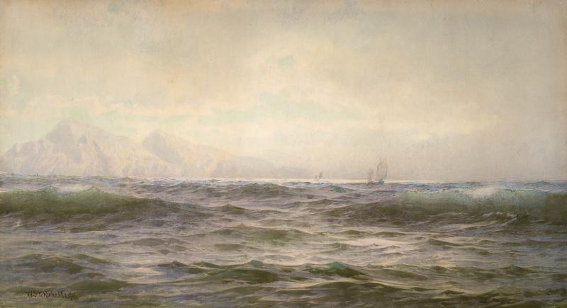 William Trost Richards Off the Island of Arran