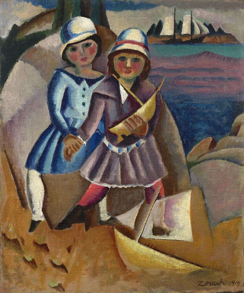 William Zorach Fishermens Children