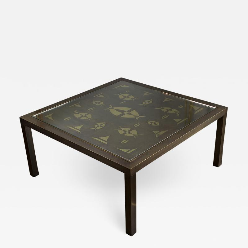 Willy Daro Coffee table by Willy Daro Belgium circa 1970
