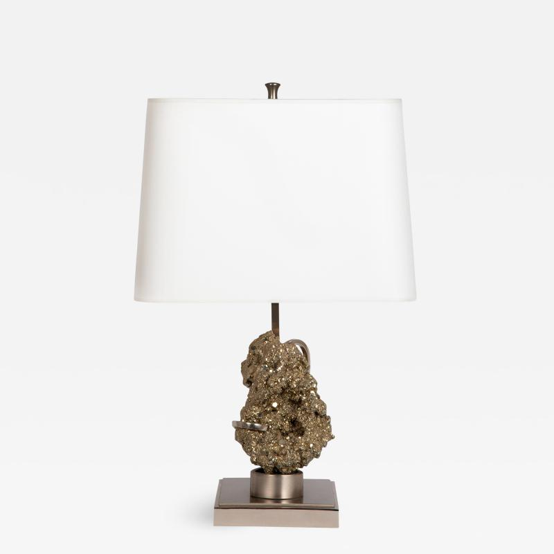 Willy Daro Pyrite table lamp