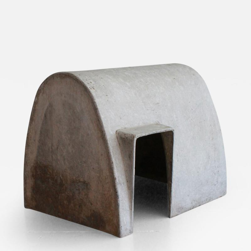 Willy Guhl Concrete Doghouse by Willy Guhl