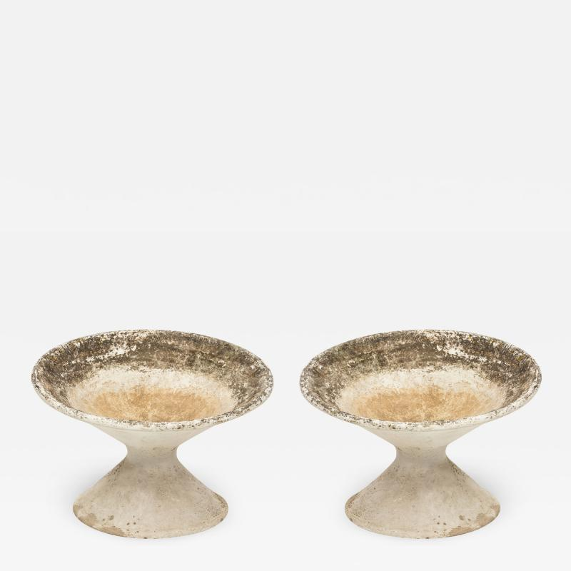 Willy Guhl Pair Willy Guhl Tilted Planters
