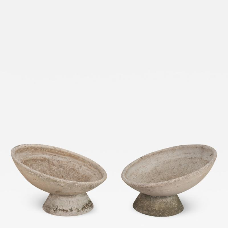 Willy Guhl Pair of Willy Guhl Vasque Planters