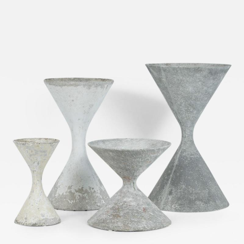 Willy Guhl Willy Guhl Hourglass Planters