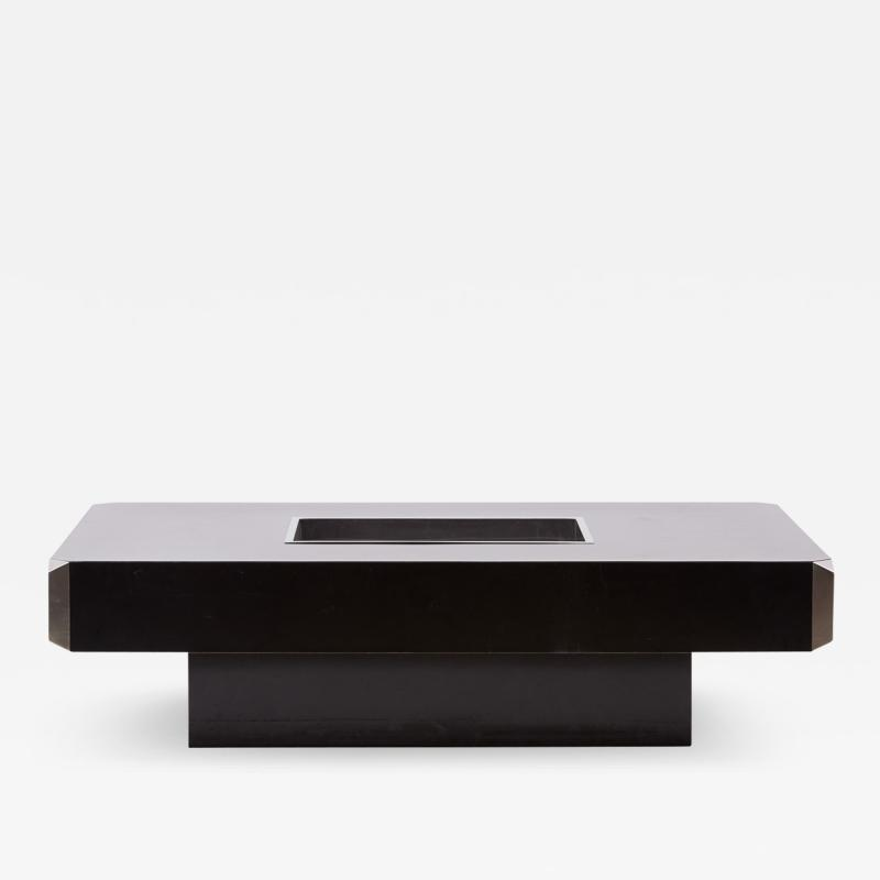 Willy Rizzo Coffee Table Model Alveo by Willy Rizzo for Mario Sabot Italy 1970s