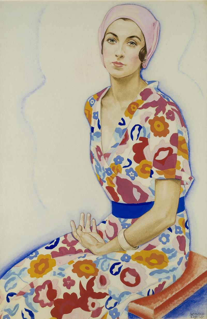 Winold Reiss Sally Geyger