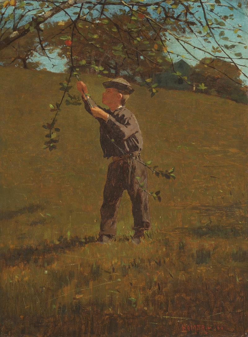 Winslow Homer Green Apples