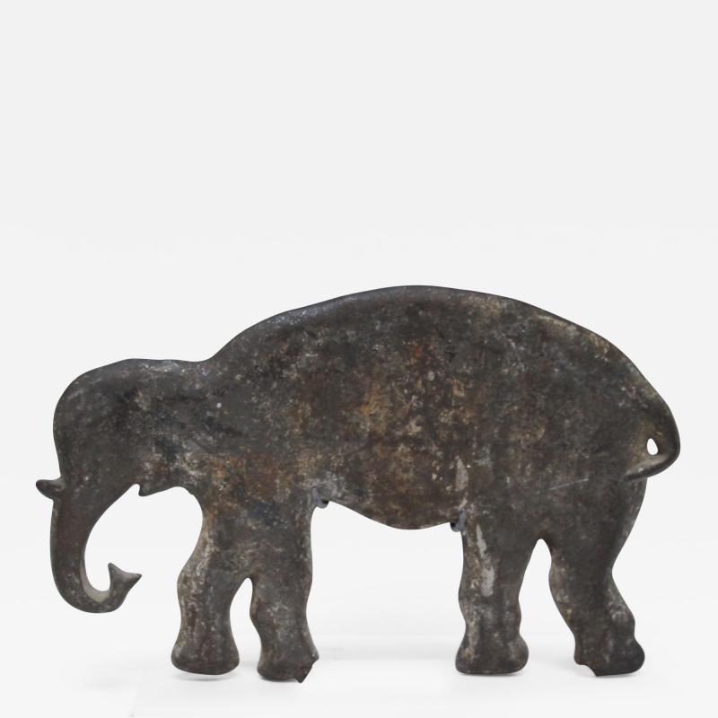 Wm F Mangels Cast Iron Elephant Carnival Arcade Shooting Gallery Target
