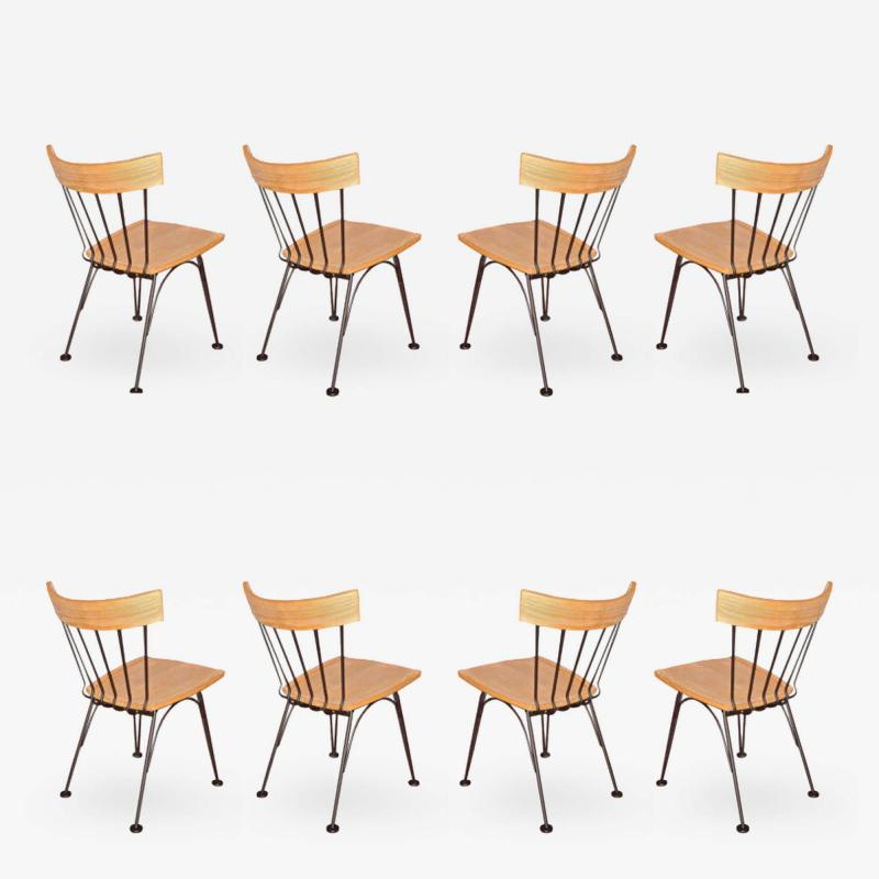Woodard Furniture Lee L Woodard dining chairs circa 1952