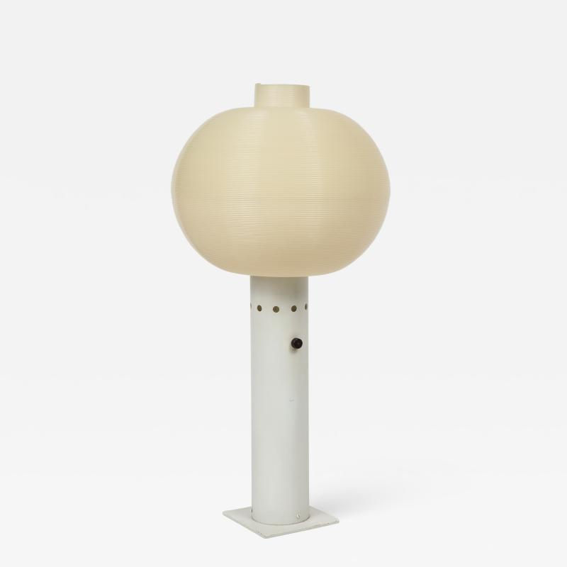 Yasha Heifetz Yasha Heifetz designed Lamp with Rotaflex Shade by Heifetz Manufacturing Co