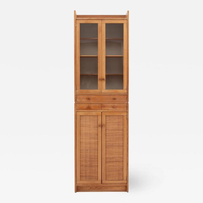 Yngve Ekstr m Swedish Mid Century Modern Pine Cabinet Model Furubo by Yngve Ekstr m