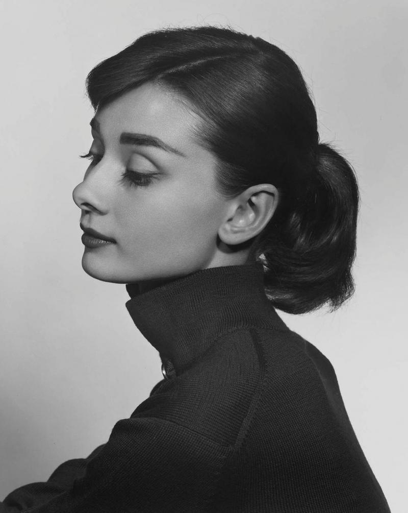 Yousuf Karsh Audrey Hepburn 1956