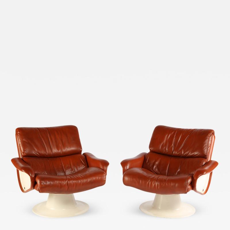 Yrjo Kukkapuro 1960s Yrjo Kukkapuro Saturn Lounge Chairs
