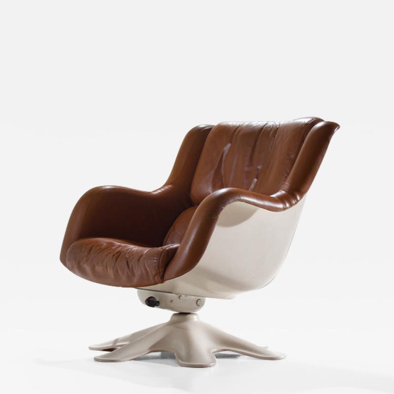 Yrjo Kukkapuro Yrj Kukkapuro 418 Lounge Chair For Haimi Finland 1960s