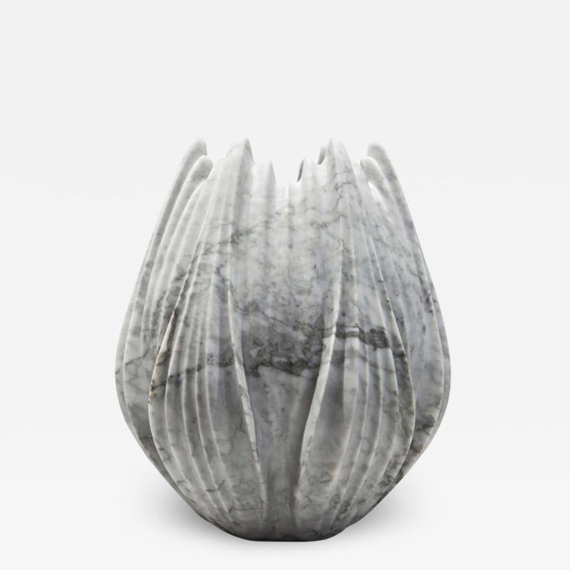 Zaha Hadid Bianco Carrara Marble