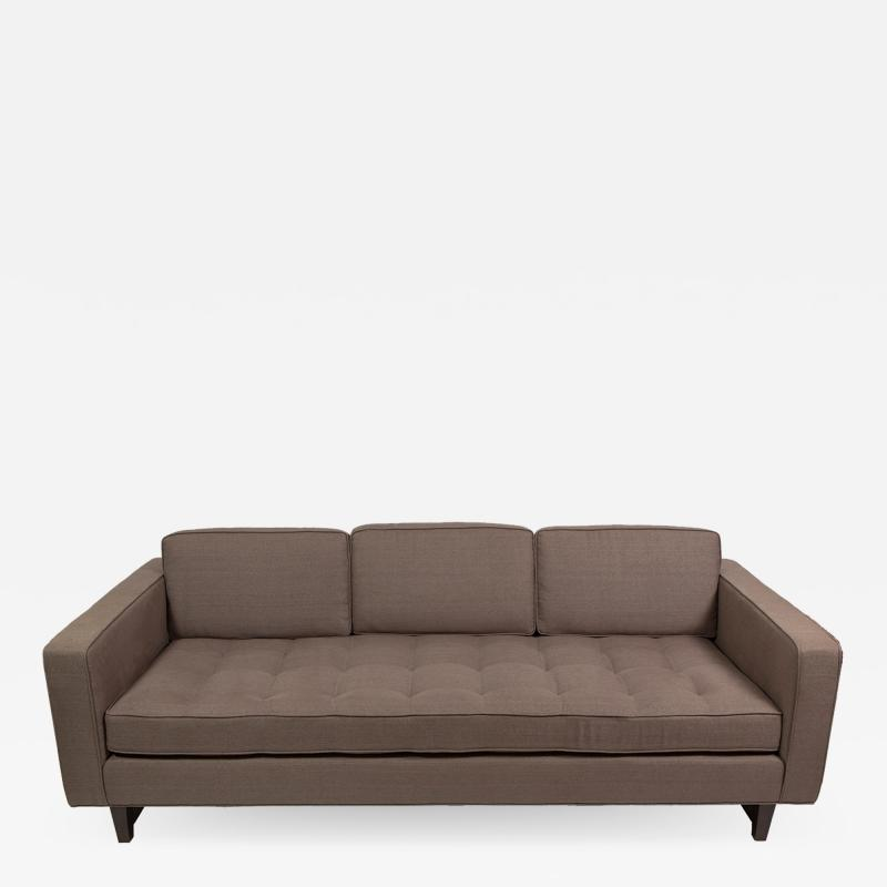 reGeneration Furniture Sofa 3 with button tufted seat and down and feather back cushions