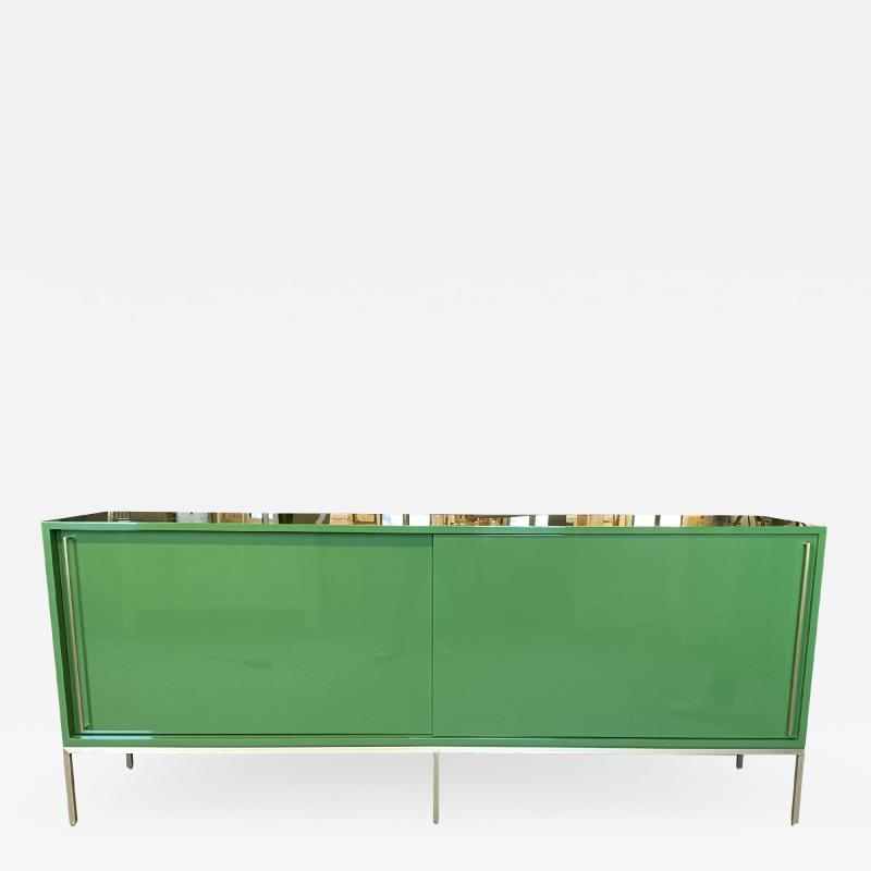 reGeneration Furniture re 379 credenza in wrought iron and nickel
