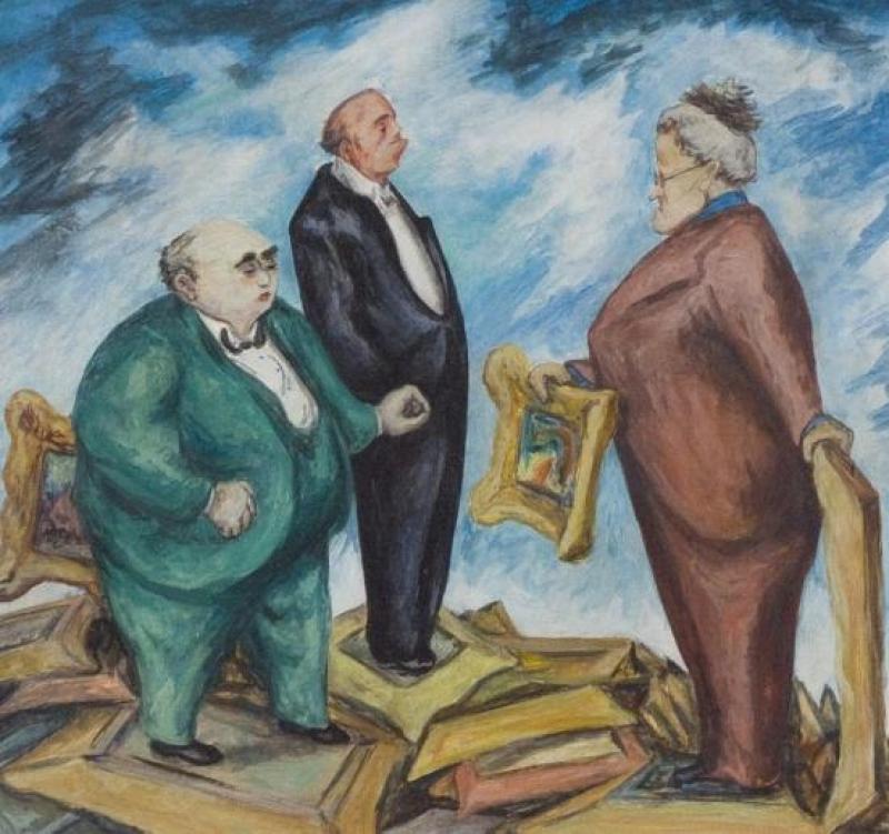 Mervin Jules The Jury c 1945