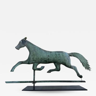 A L Jewell Co Jewell Running Horse Weathervane