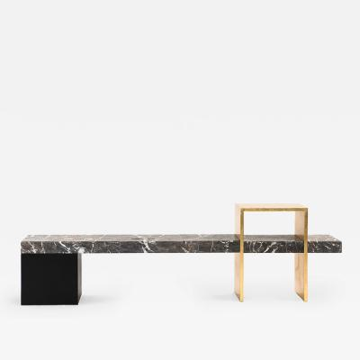 A SPACE STUDIO FOUND BENCH