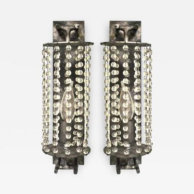 ADG Lighting 5185 Averys Crystal Beaded Sconce ADG Lighting