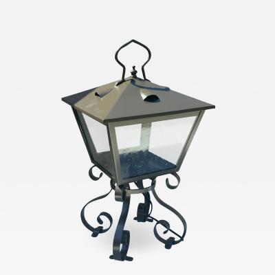 ADG Lighting 714 5 Ocean Way Lantern Wrought Iron Open Frame ADG Lighting