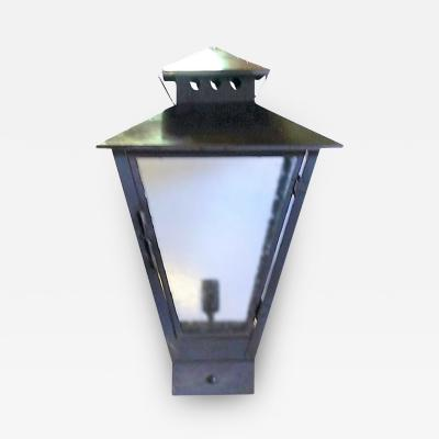 ADG Lighting Brass Traditional Pilaster Lantern