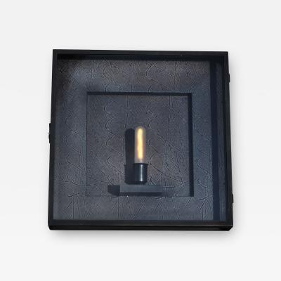 ADG Lighting Contempo Brass Wall Light
