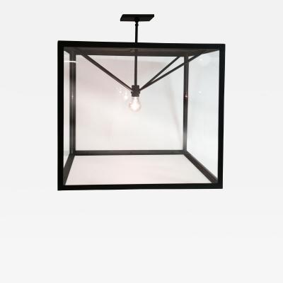 ADG Lighting Large Contempo Box Lantern