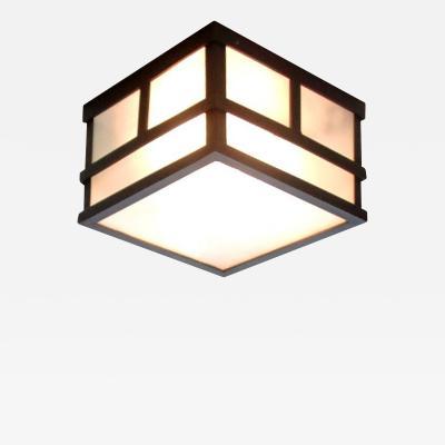 ADG Lighting Modern LED Ceiling Flush Light Transitional Bar Stock Light Fixture