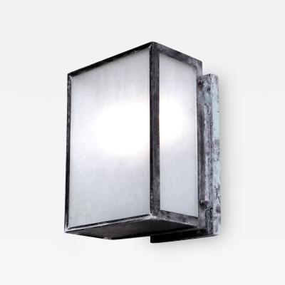 ADG Lighting Modern Lantern LED Optional Light