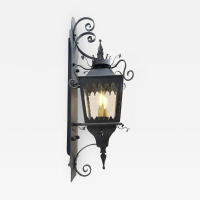ADG Lighting Ornate Italian Wall Lantern on Bracket
