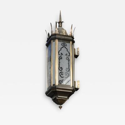 ADG Lighting Pershin Square Spiked Lantern