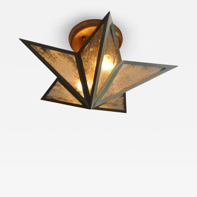 ADG Lighting Star Ceiling Flush