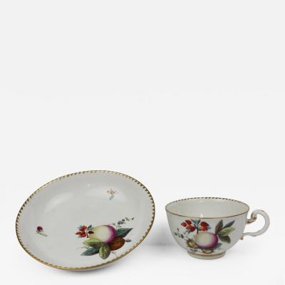 ANSBACH Ansbach Cup and Saucer Circa 1765